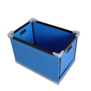 折叠型中空板周转箱